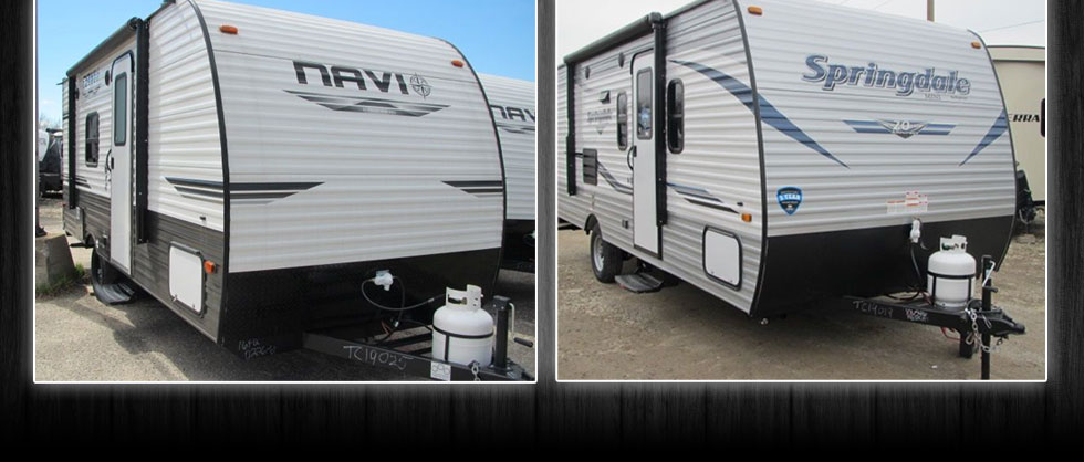 Light weight trailer RV